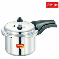 Prestige Deluxe Plus Aluminium Polished Cooker- 3 Ltrs - 356549