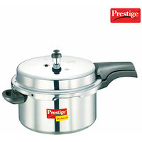 Prestige Deluxe Aluminium Polished Cooker- 7.5 Ltrs