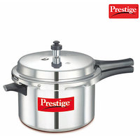 Prestige Aluminium Outer Lid Pressure Cooker - 5.5 Ltrs