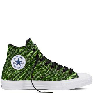 Converse MenS Chuck Taylor All Star Hi Top Black Sneaker Shoe - 95991323