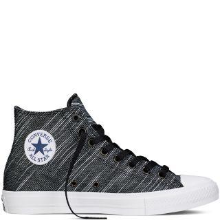 Converse MenS Chuck Taylor All Star Hi Top Black Sneaker Shoe