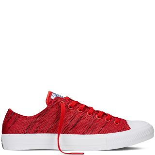 Converse MenS Chuck Taylor All Star Low Top Red Sneaker Shoe