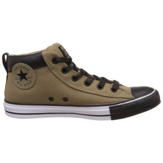 Converse MenS Chuck Taylor All Star Mid Top Khaki Sneaker Shoe