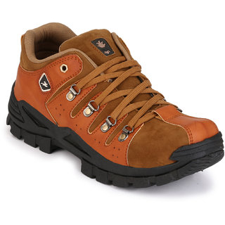 Afrojack MenS Brown Rhino Outdoor Shoes