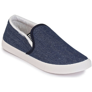 Afrojack MenS Mcg Blue  White Casual Shoes