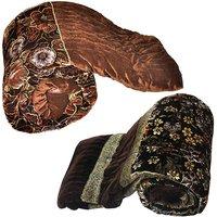 Buy Jaipuri Double Bed Velvet Quilt N Get Single Bed Velvet Quilt Free
