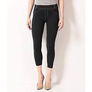 TSG BREEZE TREAT SEAMLESS JEGGINGS-105-DGREEN COLOUR