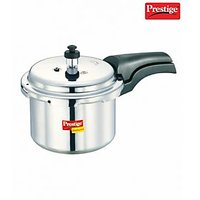 Prestige Deluxe Plus Aluminium Polished Cooker- 3 Ltrs