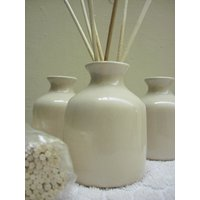 Reed Diffuser Set, Elegant Pot With 50ml. Fragrance Oil And 6 Sticks