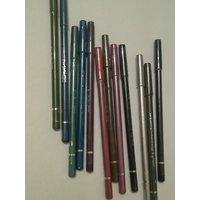 Mac Colour Crayon Creme Long Lasting Professional Lip/Eye Pencil Mixed Colors 12