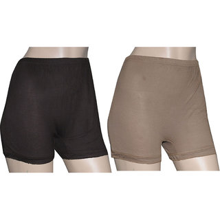Poliss Dark Color Plain Shorts (Option 3)