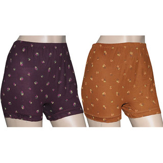 Poliss Dark Color Printed Shorts (Option 3)