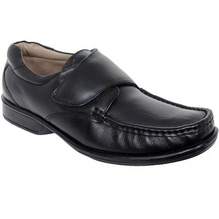 Delize Men's Black Formal Shoes