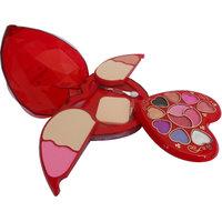 Kiss Beauty Makeup Kit With Eyeshadow Blusher Powder Lipgloss ETC (8804)