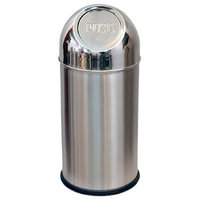 KING INTERNATIONAL - Push Dustbin - 8 Ltr (8x16)