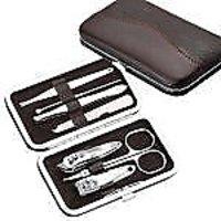 Swiss Beauty Premium 7 PC Folding Make-up Kit, Cosmetics / Manicure Kit Set