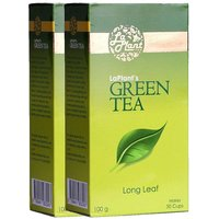 LaPlant Green Tea, Long Leaf - 200 Gm (Pack Of 2)