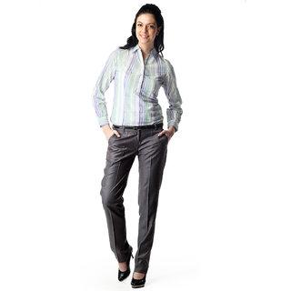 WoMen's Slim Fit Formal Shirt Option 13