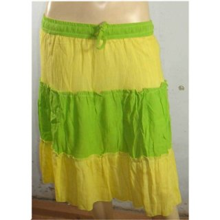 Womens Girls Mediam Teen Design Pure Cotton Short Skirt Skirts Summer Cool
