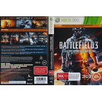 Battlefield 3 Premium Edition For  XBOX360