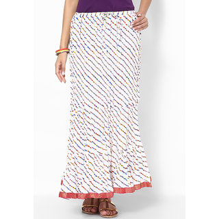 Rajasthani Sarees Nice Cotton Jaipuri Printed Long Skirt