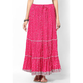 Rajasthani Sarees Lovely Cotton Jaipuri Long Skirt