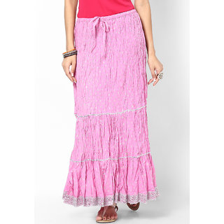 Rajasthani Sarees Pretty Cotton Jaipuri Long Skirt