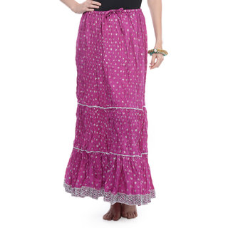 Rajasthani Sarees Trendy Cotton Jaipuri Long Skirt