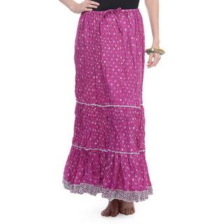 Rajasthani Sarees Trendy Cotton Jaipuri Long Skirt