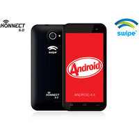 Swipe Konnect 5.0- 5-inch Phablet, 1.3GHz Quad-Core, 1GB RAM, 8GB ROM- Black