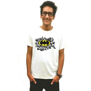 Shades Of Batman T-Shirt White