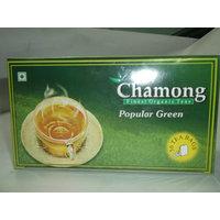 Green Tea Bags - Chamong Popular Green Tea Pack Of 3 (50x3=150 Tea Bags)