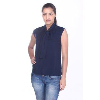 Sleeveless Top Blue For Women