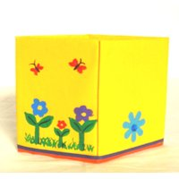 Handmade & Painted Pen Holder, Pencil Holder, Pen Stand, Pencil Stand