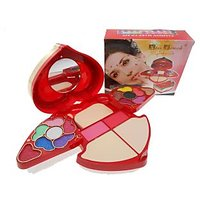 Kiss Touch Makeup Kit High Quality With Eyeshadow & Lip Gloss 2 Way Cake K6038