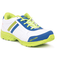 Foot N Style White & Blue Sports Shoes Fs475