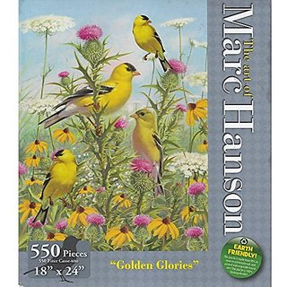 Panorific 750 Piece Jigsaw Puzzle Sunflower Kids by Kathleen Francour by Sure-Lox