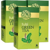 LaPlant Tulsi Green Tea - 75 Tea Bags (Combo Of 3)