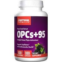 Jarrow Formulas OPCs + 95 100mg, Grape Seed Extract, 100 Capsules