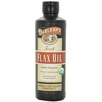 Barlean's Organic Oils Fresh Flax Oil, 16-Ounce Bottle