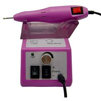 Belle? Electric Nail Drill Manicure Pedicure File Acrylic Kit Set Bits 20000RPM
