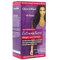 QuickTrim Extreme Burn, Weight Loss Formula - 60 Capsules