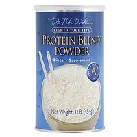 D'Adamo Personalized Nutrition Protein Blend Powder Right 4 Your Type A -- 1 Lb