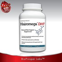 Hairomega DHT Dht-blocking Hair Loss Supplement, 90-count Bottle, 45 Day Supply