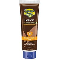 Banana Boat Deep Tanning Lotion With Green Tea Spf 8, 8-Ounces (Pack Of 3)