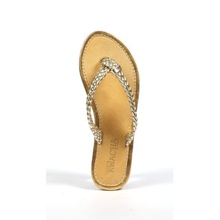 Leather Weaving Slip On