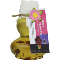 Soulflower Rose Geranium Aroma Massage Oil