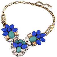 Young & Forever The Peacock Goldbase Necklace  For Women By CrazeeMania