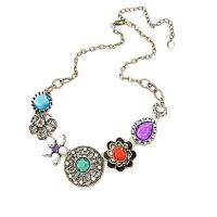 Young & Forever Colorful Gem Necklace For Women By CrazeeMania