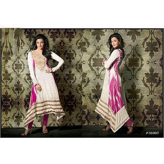 Heavy Embroidery Work Long Anarkali Suit